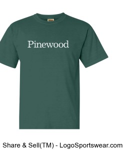Classic Pinewood 100% Cotton Tee Design Zoom