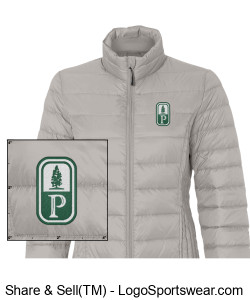 NEW! Classic Pinewood Womens Puffer Jacket Design Zoom