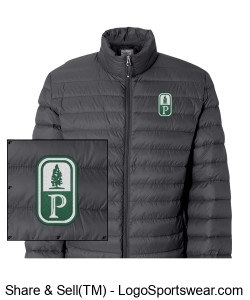 NEW! Classic Pinewood Mens Puffer Jacket Design Zoom
